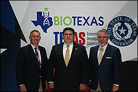 Secretary Pablos posing with other participants at the 2017 BIO International Conference.